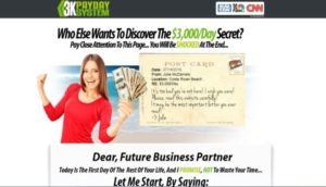 3k Payday Review By Julie McDaniels Is 3k Payday Software SCAM Or LEGIT System?